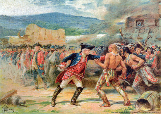 Surrender Of Fort William Henry Lake George Ny August 9