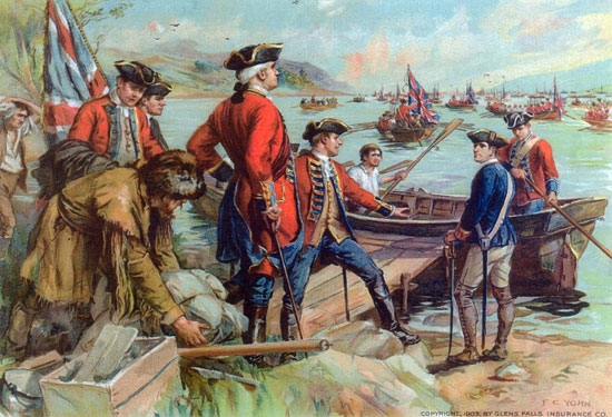 the reasons for the attack on the british forts at ticonderoga and crown point A short history of the french and indian war both the forts at ticonderoga and crown point and also point of the war, with an eventual british.