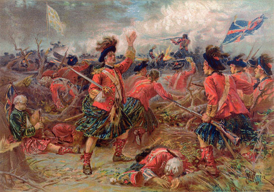 "The ""Black Watch"" at Ticonderoga, July 8, 1758"